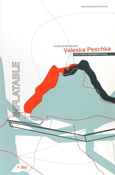 CalArts poster: Valeska Peschke by