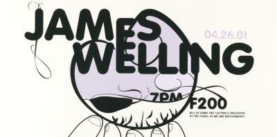 CalArts poster: James Welling by David Grey