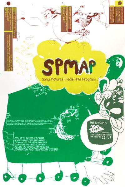 CalArts poster: SPMAP by Ed Rick