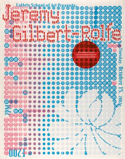 CalArts poster: Jeremy Gilbert-Rolfe by Jae-Hyouk Sung