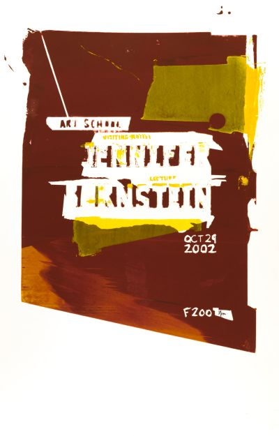 CalArts poster: Jennifer Bornstein by
