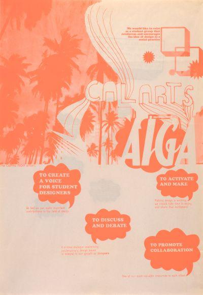 CalArts poster: CalArts AIGA by