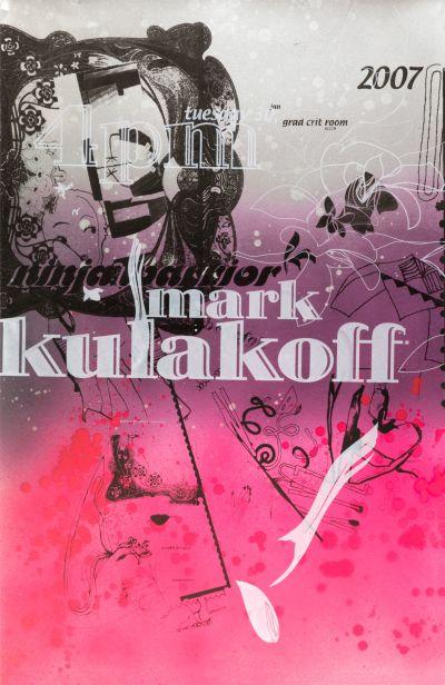 CalArts poster: Mark Kulakoff by Cassandra Chae Tasheka Arcenaux
