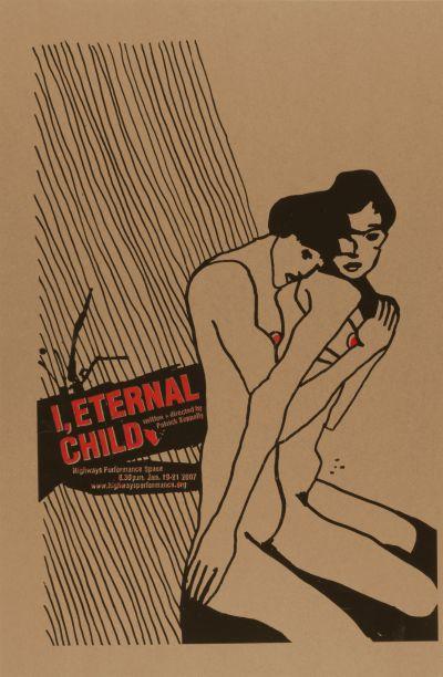 CalArts poster: I, Eternal Child by Julie Mattei