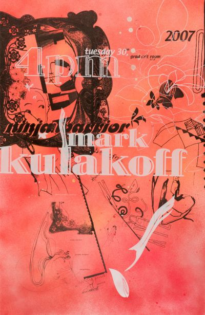 CalArts poster: Mark Kulakoff by