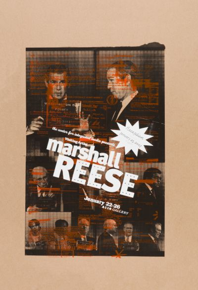 CalArts poster: Marshall Reese by