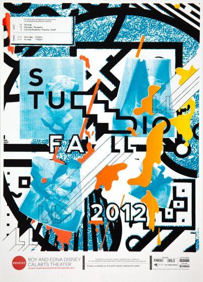 CalArts poster: Studio Fall 2012 by Alex Ketchakmadze Matthew King Nathalie Sehee Kim