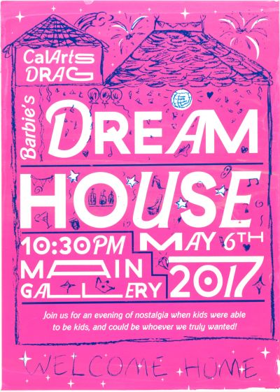 CalArts poster: Barbie's Dream House by Alyson Yee