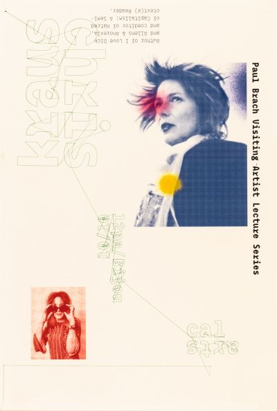 CalArts poster: Chris Kraus by Dameon Waggoner