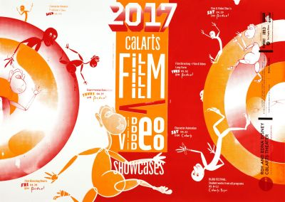 CalArts poster: CalArts Film /Video Showcases by Andrea Yasko Es Youn