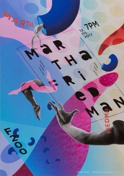 CalArts poster: Martha Friedman by