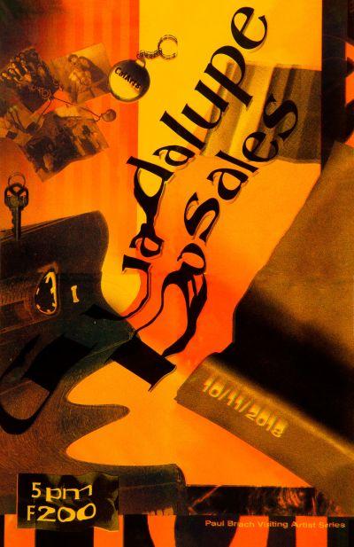 CalArts poster: Guadalupe Rosales by Jisoo Han Vivian Naranjo
