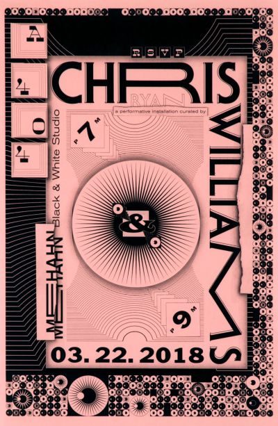 CalArts poster: Chris Williams by Vivian Naranjo