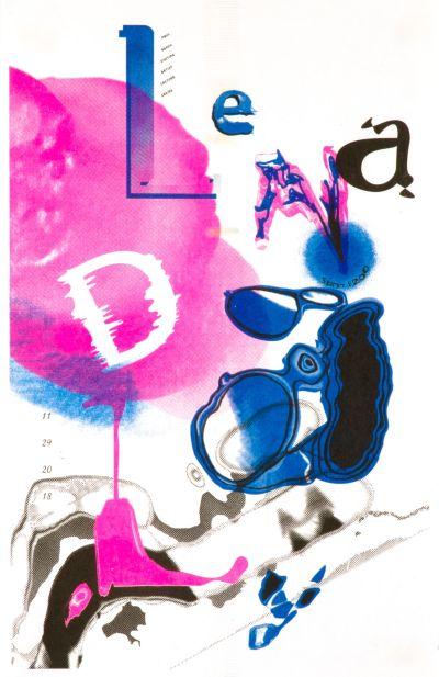 CalArts poster: Lena Daly by Vivian Naranjo