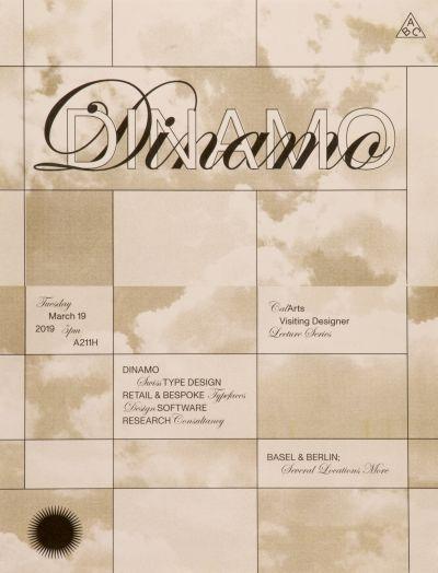 CalArts poster: Dinamo by Ella Gold