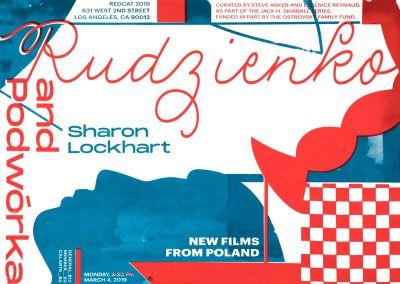 CalArts poster: New Films From Poland by Lyla Zhou