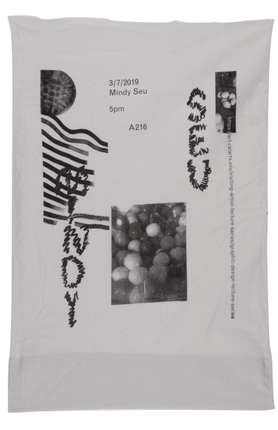 CalArts poster: Mindy Seu by Conny Cavazos Rebecca Lofchie