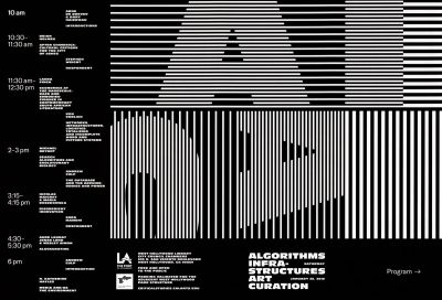 CalArts poster: West Hollywood Aesthetic & Politics January 2019 by Christina Huang