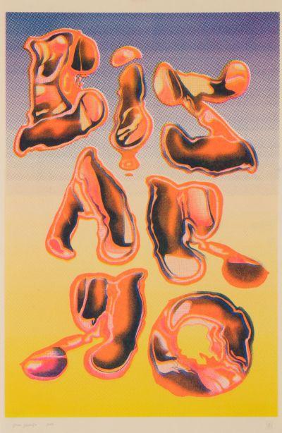 CalArts poster: Bizarro by Vivian Naranjo