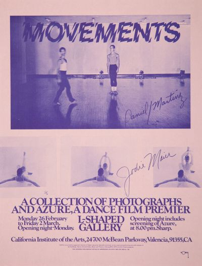 CalArts poster: Movements by