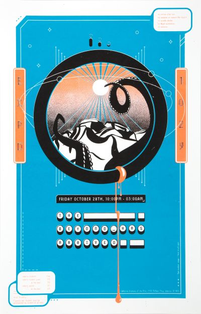 CalArts poster: The Beyond Has Arrived by