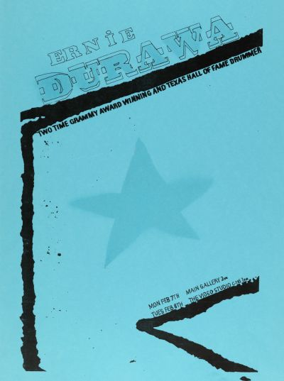 CalArts poster: Ernie Durawa by Angela Miller Ketti Johnson