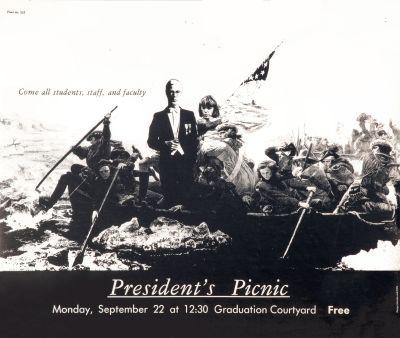 CalArts poster: President's Picnic by Noreen Morioka