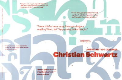 CalArts poster: Christian Schwartz by Jenny Earnest Ran Park