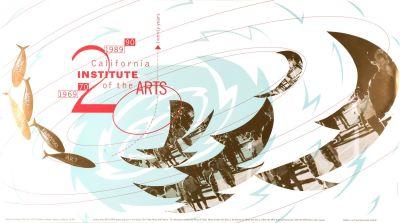 CalArts poster: California Institute Of The Arts Twenty Years by Somi Kim