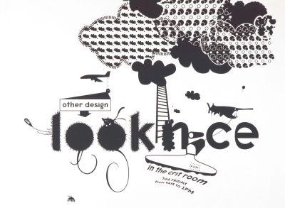 CalArts poster: Look Nice by David Grey Suthada Wadkhien