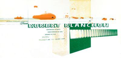 CalArts poster: Robert Blanchon by