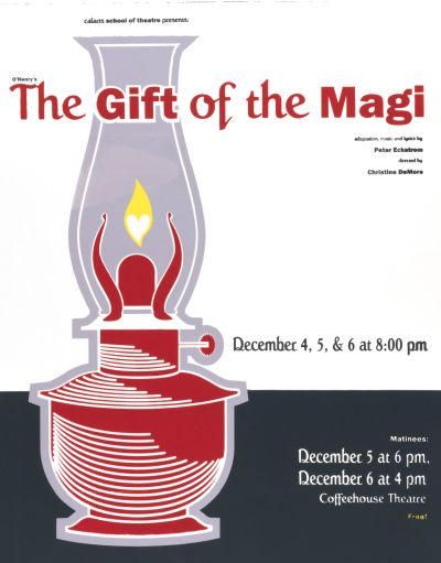 CalArts poster: The Gift of the Magi by