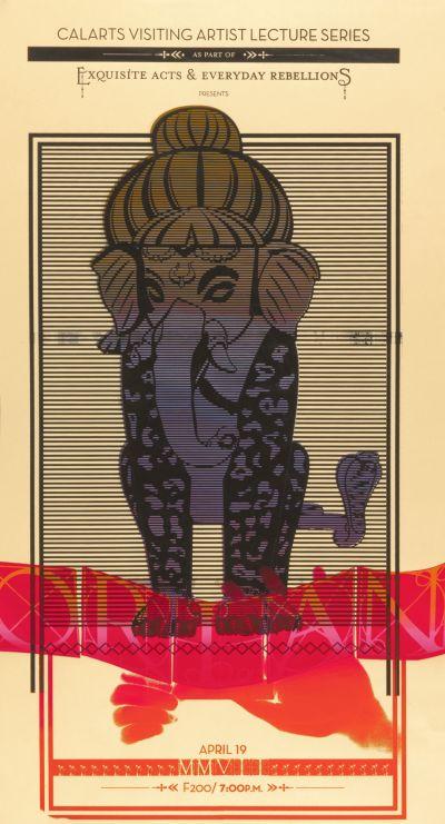 CalArts poster: Orlan by