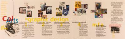 CalArts poster: Graphic Design Program (back) by Garland Kirkpatrick