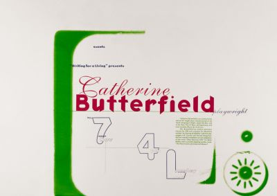 CalArts poster: Catherine Butterfield by Richard Shanks