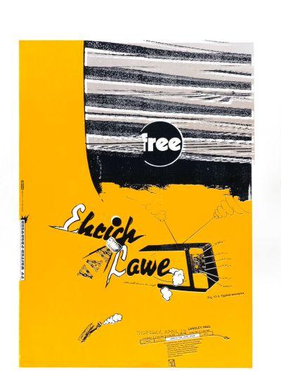 CalArts poster: Ehrich Van Lowe by Joseph Monnens