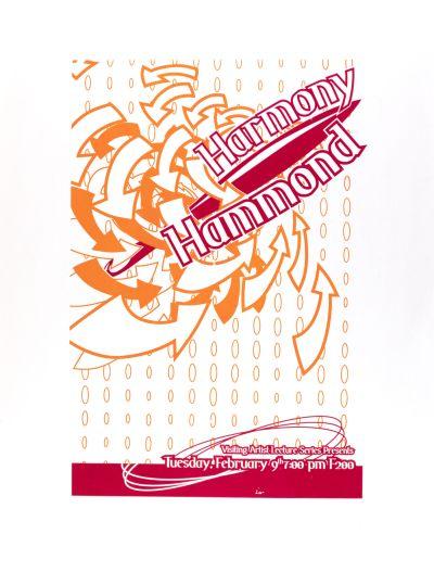 CalArts poster: Harmony Hammond by
