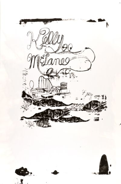 CalArts poster: Kelly McLane by