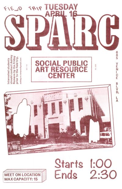 CalArts poster: SPARC_1 by Stefano Giustiniani