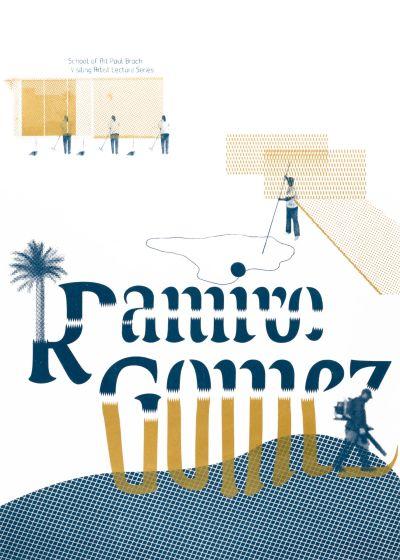 CalArts poster: Ramiro Gomez by