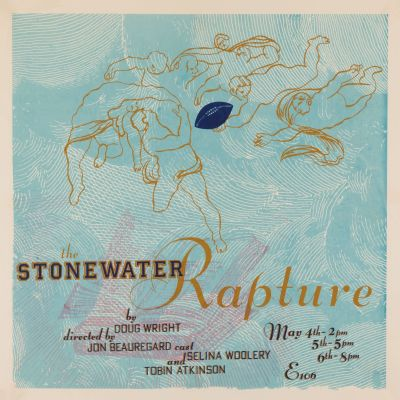 CalArts poster: The Stonewater Rapture by