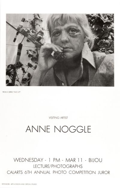 CalArts poster: Anne Noggle by