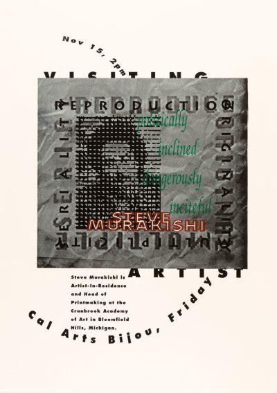 CalArts poster: Steve Murakishi by