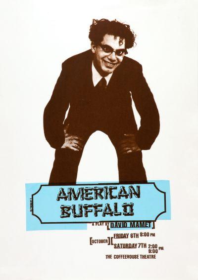 CalArts poster: American Buffalo by