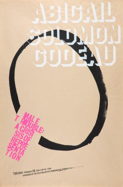 CalArts poster: Abigail Solomon Godeau by