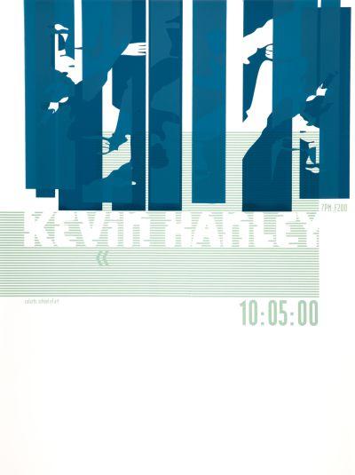 CalArts poster: Kevin Hanley by Petra Michel