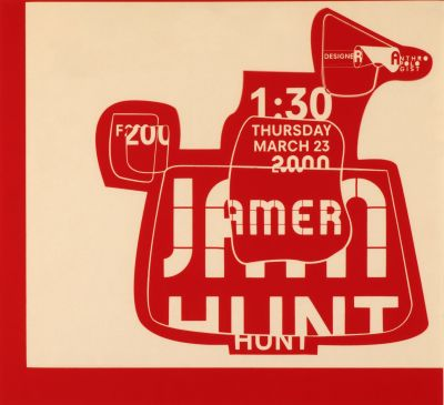 CalArts poster: Jamer Hunt by