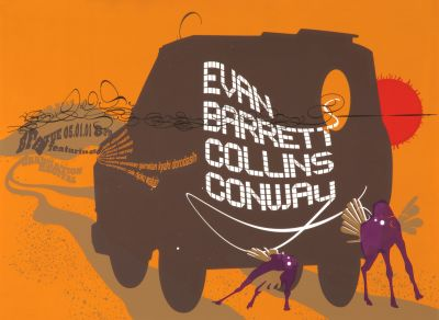 CalArts poster: BFA Graduation Recital: Evan Barrett Collins Conway by David Grey