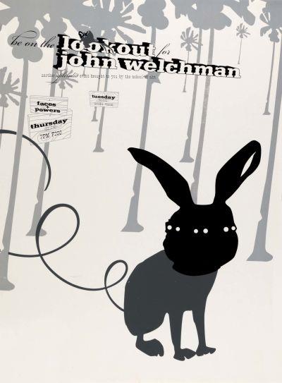 CalArts poster: John Welchman by David Grey