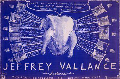 CalArts poster: Jeffrey Vallance by Jen McKnight